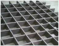 PRESS LOCKED GRATING